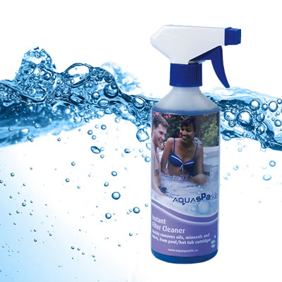 spa instant filter cleaner
